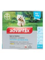 Thumbnail of Advantix Dewormer 100/500 Spot On Dog 4 10kg 24 Pipettes
