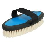 Imagem deEzi Groom Body Brush with Goat Hair Bright Blue L