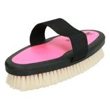 Imagem deEzi Groom Body Brush with Goat Hair Bright Pink L