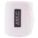 Image deAnky Bandages Basic Fleece Jeu de 4 Blanc 3,5m