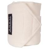 Image deAnky Bandages Basic Fleece Jeu de 4 Blanc cassé 3,5m
