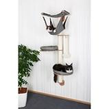 Imagem deKerbl Árvore de parede para gatos Dolomit 2.0 Tofana cinza 160cm 81545