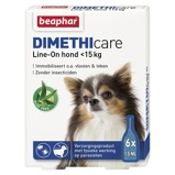 ObrázekBeaphar Flea Treatment DIMETHIcare Line on Dog Small 6Pips