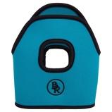 Image ofBR Stirrup Covers Neoprene Turquoise 12cm
