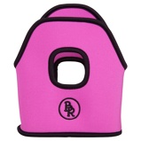 Imagem deBR Stirrup Covers Neoprene Bright Pink 12cm