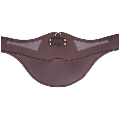Obrázek Acavallo Girth Comfort Gel with a Stud Guard Brown 120cm