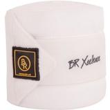 Abbildung vonBR Bandagen Xcellence 3,5cm Fleece 380g Weiß/Stone Warmblut