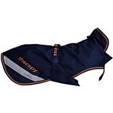 Abbildung vonBucas Dog Rug Navy/Orange 35cm