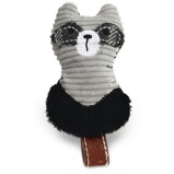 Bild avDesigned by Lotte Cat Toy Rami Textile Grey 9cm