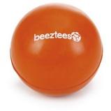 Imagem deBeeztees Ball Rubber Solid Orange 6,5cm