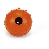 ObrázekBeeztees Ball Rubber with a Bell Solid Orange 5cm
