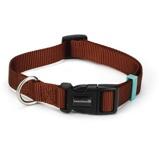 Abbildung vonBeeztees Nylon Halsband Uni HellBraun 48 70cmx25mm