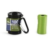 Abbildung vonBeeztees Kotbeutel Filmrolle+Beutel Grün 5cmx7cm