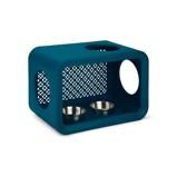 Bild avBeeztees Dinner Cat Cube Blue 49x29x32,6cm