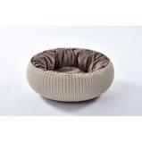 Abbildung vonCurver Cozy Pet Bett Creme 50cm 22cm