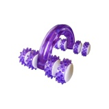 Image ofAgradi Massage Grip Violet/Weiß