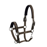 ObrázekEskadron Head Collar Dubble Pin Brown Cob