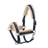 ObrázekEskadron Head Collar Faux Fur Cl Sports Dubble Pin Navy Cob