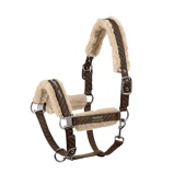 ObrázekEskadron Head Collar Faux Fur Cl Sp Dubble Pin Brown Full