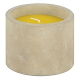 ObrázekEsschert Citronella Candle In Concrete Pot
