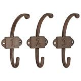 ObrázekEsschert Coatrack Hooks with Numbers Assorti