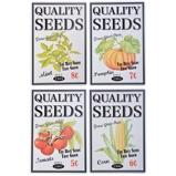 ObrázekEsschert Ad Sign Flower/seeds Colourd