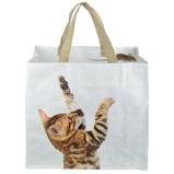 Image ofEsschert Shopping Bag Cat/Mouse