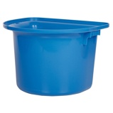 Bild avHarrys Horse Portable Hook Over Manger Bucket Blue
