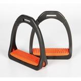 Abbildung vonCompositi Steigbügel Profile Premium Orange Erwachsene