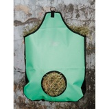 Image ofHarrys Horse Hay Bag with a Mesh Insert Green