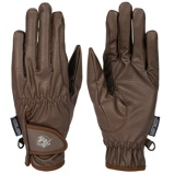 Image ofHarrys Horse Gloves TopGrip Brown XXL