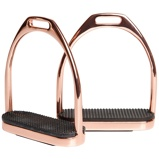 Image ofHarry's Horse Fillis stirrups stainless steel Rosegold