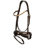 Abbildung vonHarrys Horse Trense Metallic Brass Braun Pony