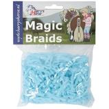 Abbildung vonHarrys Horse Einflechtgummis Magic Braids Beutel Licht Blau