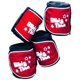 Bild avBibi & Tina Polar Fleece Bandages Set Of 4 Blue/Red 300 cm