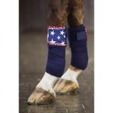 Bild avBibi & Tina Fleece Bandages Stars Set Of 4 Jeansblue 300 cm