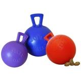 ObrázekJolly Ball Tug n Toss Mini Treat Dispenser Red 10cm