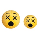 Abbildung vonFabdog Faball Cross Eyed Emoji M