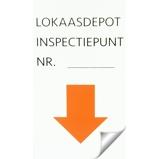 Afbeelding vanAgradi Sticker Inspectiepunt 5 x 9cm