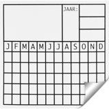 Afbeelding vanAgradi Sticker Datum 5x5