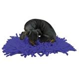 Bild avEat Slow Live Longer Play Mat Dark blue 44x28cm