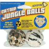 Image deAgradi Balle Catnip Look Jungle 2 Pièces 4cm