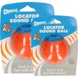 Abbildung vonChuckit Ball Locator Sound Orange Blau Large