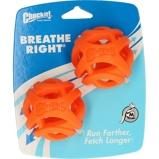 Abbildung vonChuckit Ball Breathe Right Fetch 2 Pack Orange 6,4cm