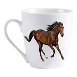 Afbeelding vanPlenty Gifts Mok I love horses 220 ml blauw