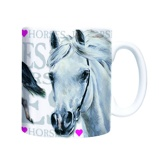 Afbeelding vanPlenty Gifts Mok I love horses 220 ml