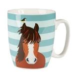 Afbeelding vanPlenty Gifts Mok paard multicolor 220 ml