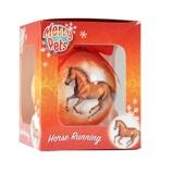 Afbeelding vanRed Horse Kerstbal met Paard Rood