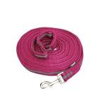 Image ofHorka Lunging Rein Soft Hot Pink 8m