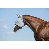 ObrázekAmigo by Horseware Fly Mask Silver/Navy Cob